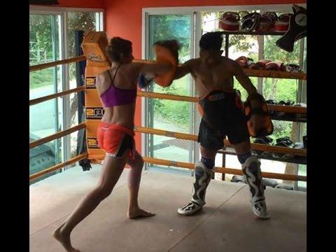 Muay Thai Training at SITSONGPEENONG Phuket