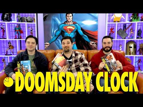 Doctor Manhattan vs Superman!   Doomsday Clock   Back Issues