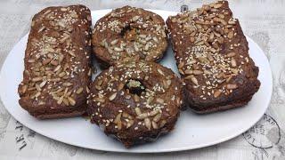 Кето хлеб с подсолнечной мукой LCHF рецепт булочек