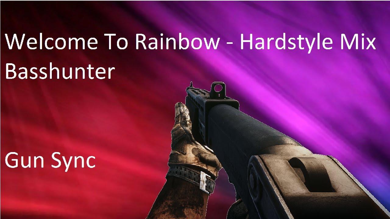 #Battlefield 4 + Modern Warfare 3 Gun Sync - Welcome to Rainbow (Hardstyle Mix) - ft. DaoBao13