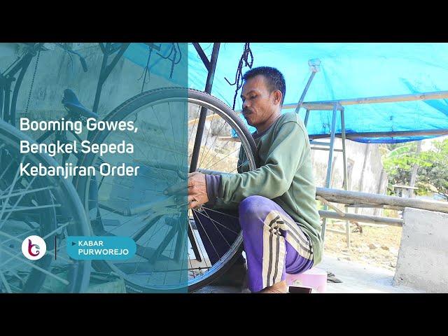 Booming Gowes, Bengkel Sepeda Kebanjiran Order