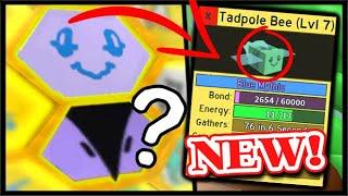 NEW *MYTHICAL* TADPOLE BEE & MYSTERY BEE LEAK? & NEW CODE! | Roblox Bee Swarm Simulator