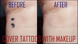 Covering A Tattoo with Makeup