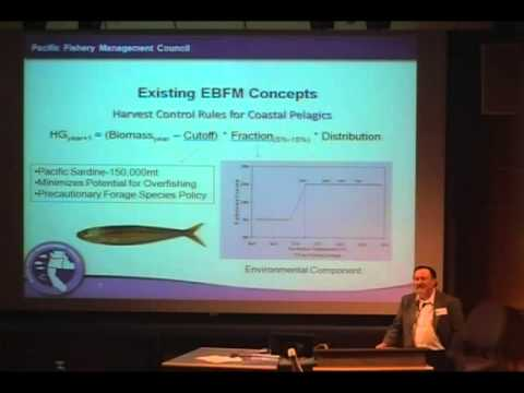 Donald McIsaac - Part 1 - EBFM At The Pacific Fishery Management Council