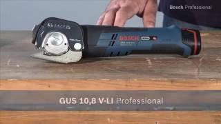 Cisaille universelle Bosch GUS 10.8V-LI - Guedo Outillage