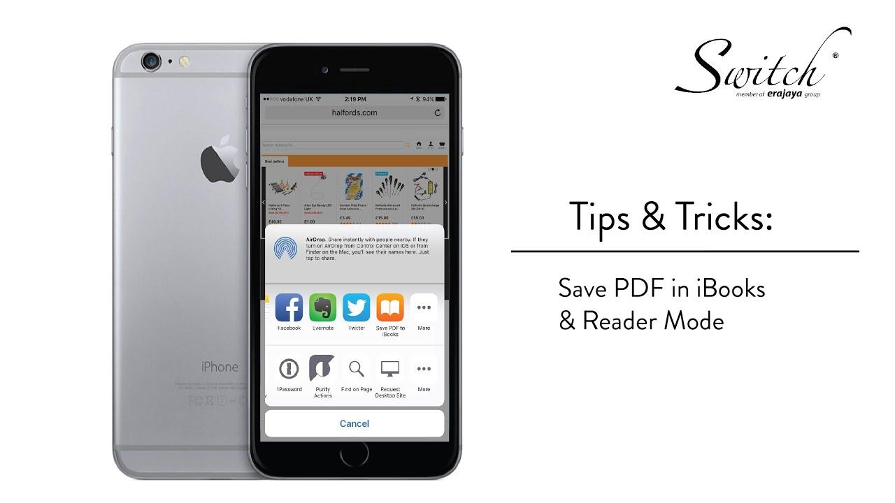 Tips & Tricks: Pdf In Ibooks