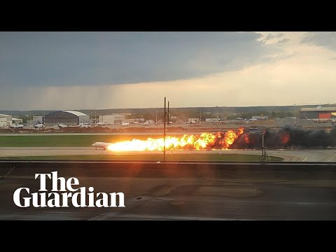 Russia: Aeroflot plane catches fire during emergency landing in Moscow