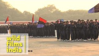 NCC march past at Parade ground in Delhi
