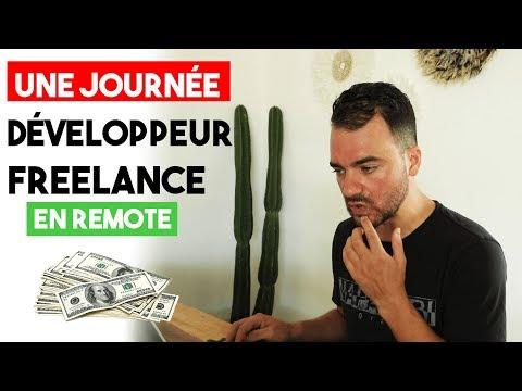 UNE JOURNÉE DE DÉVELOPPEUR FREELANCE EN REMOTE (500€/JOUR)