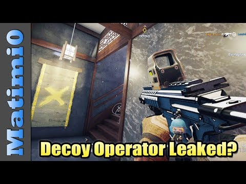 New Decoy Operator Revealed? - Rainbow Six Siege