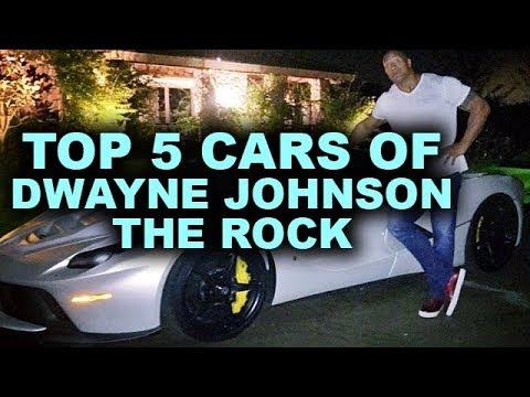 Top 5 Cars of Dwayne Johnson The Rock