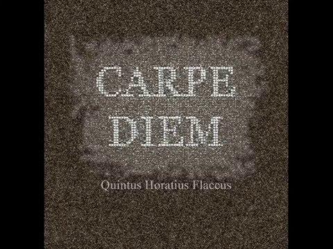 CARPE DIEM: o poema (Horácio em tradução)