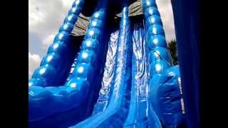 27 ft Blue Crush Water Slide