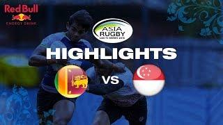 Highlights – Sri Lanka vs Singapore   Asia U20 Sevens