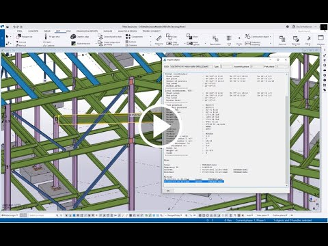 Filtering for Model History in Tekla Structures