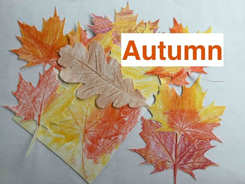 How to Make Colourful DIY Paper Autumn Leaves