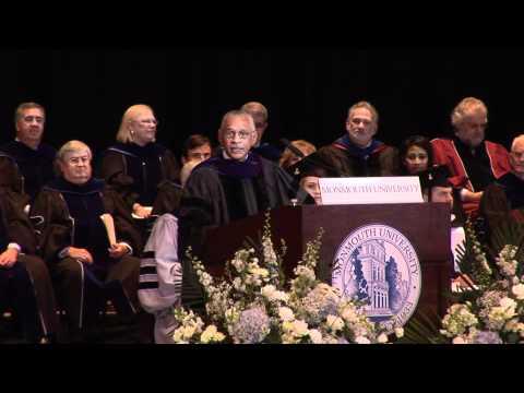 Monmouth University's Commencement speech by NASA Administrator, Charles F. Bolden Jr.