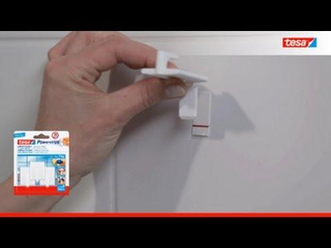 Frisch tesa Powerstrips SMALL - YouTube XR47