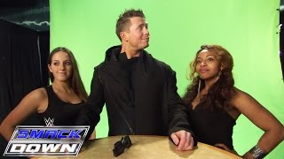 The Miz drops in for Damien Mizdow's commercial shoot: SmackDown, February 26, 2015