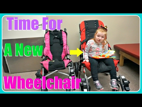 Time For A New Wheelchair! | VLOG #141