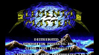 Mega Drive Longplay [195] Elemental Master screenshot 3