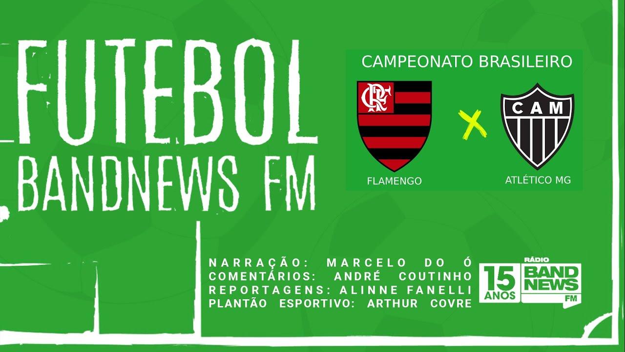 FUTEBOL BANDNEWS - FLAMENGO X ATLÉTICO MG - 09/08/2020 - AO VIVO