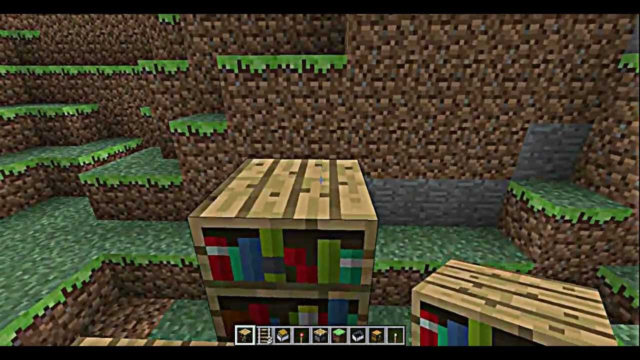 Truhen In Bucherregal Verstecken Minecraft Youtube