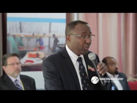 Welcome Remarks by the Somaliland Minister of Energy - English