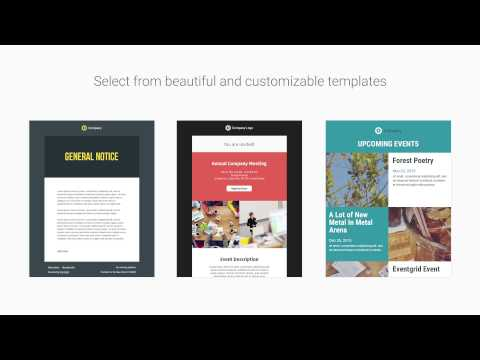 Eventgrid Email Campaigns