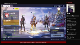 Fortnite Live! The Struggle is Real