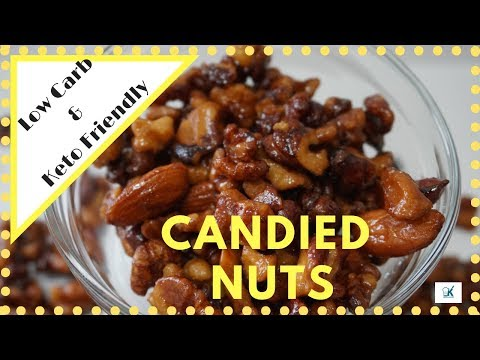 Candied Nuts | LOW-CARB & KETO FRIENDLY