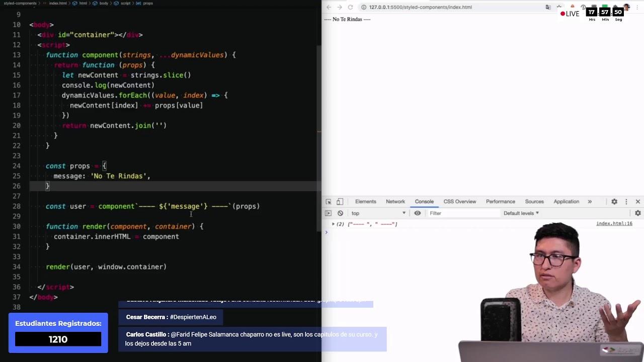 Curso de JavaScript Para React - Preview - 24 en vivo!