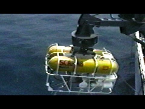 Report on SCARAB, a submersible craft for underwater cable maintenance, from Bell Labs, 1982