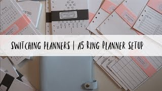 NEW PLANNER SETUP | SEW MUCH CRAFTING INSERTS