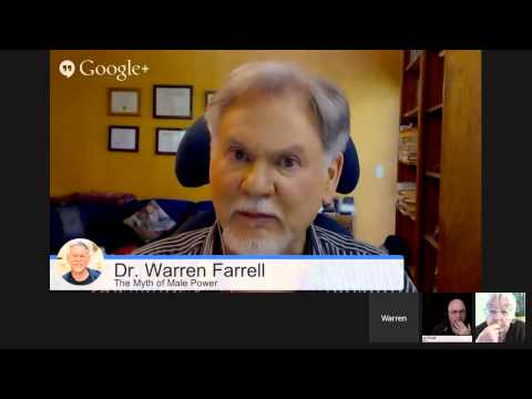 Google On Air Hangout-Steve Brule' hosts with Dr. Warren Farrell and Erin Pizzey