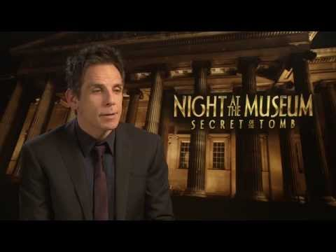"Ben Stiller: ""Robin Williams was a genius"" - Night at the Museum 3 interview"