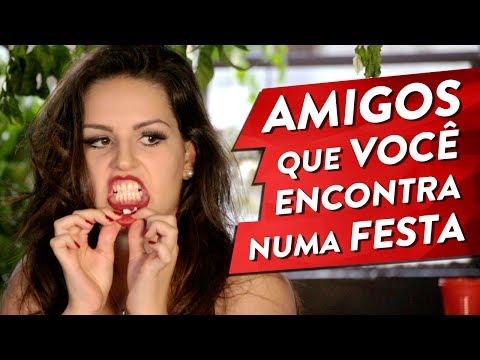 TIPOS DE AMIGOS QUE VOCÊ ENCONTRA NUMA FESTA