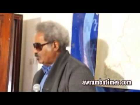 Prof. Mesfin Speaks out on Ethio-Sudan border demarcation Issues