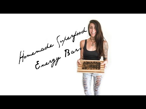 Homemade Superfood Energy Bars