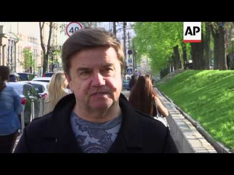 Former Ukrainian PM on his replacement