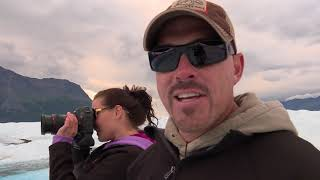 Alaskan Adventure and Ride to Knik Glacier with the Fisher Family