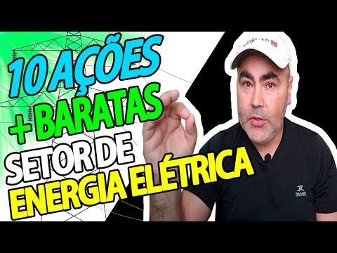 10 AÇÕES mais BARATAS de ENERGIA ELÉTRICA | Peterson Siqueira