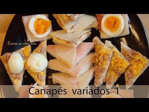 151 bocadillos variados doovi for Canapes faciles y rapidos
