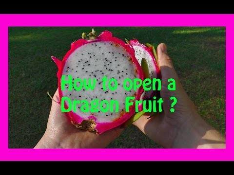 How to cut and eat Dragon Fruit ?