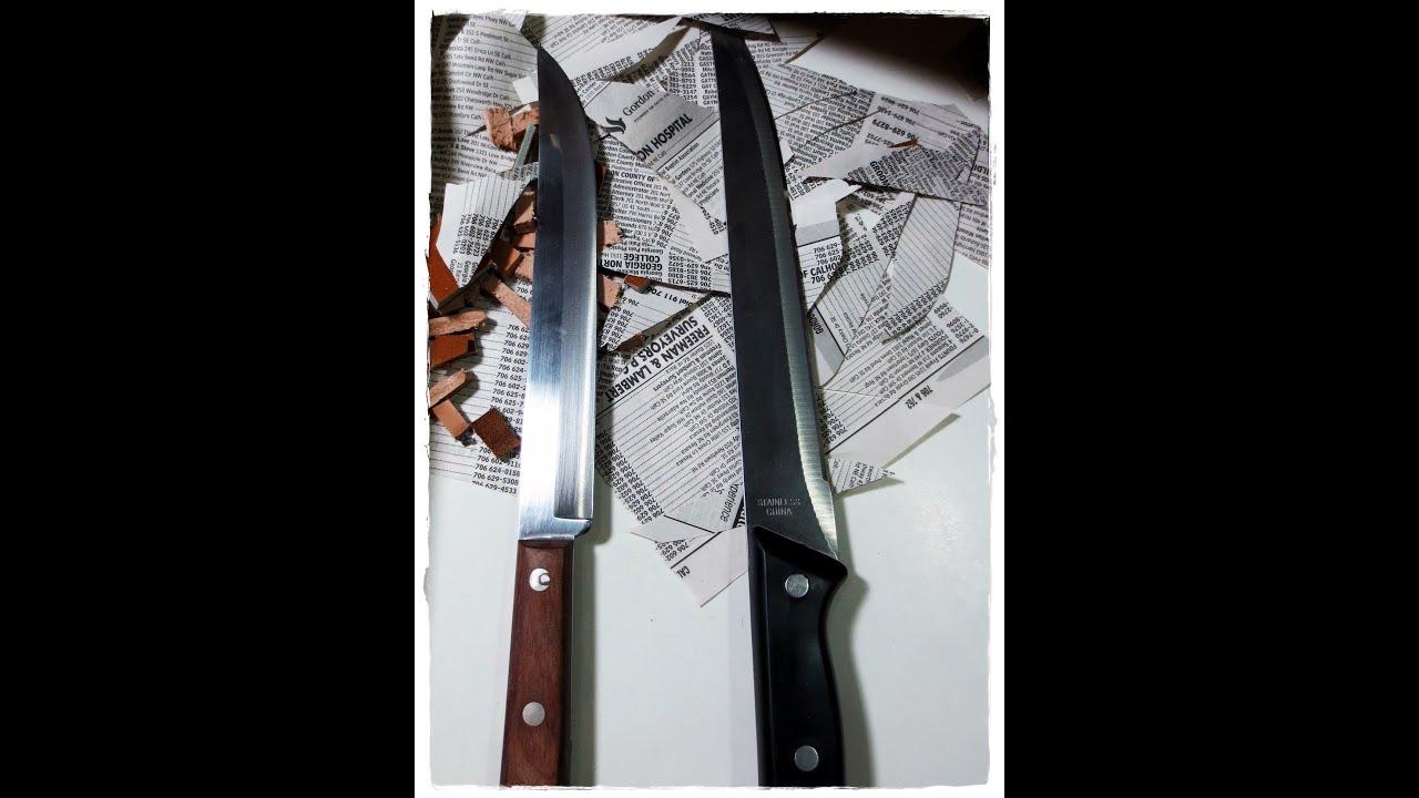 Vs Inexpensive Kitchen Knives