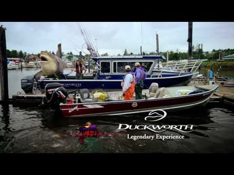 Giant Great White Shark on a Duckworth Offshore Fishing Boat