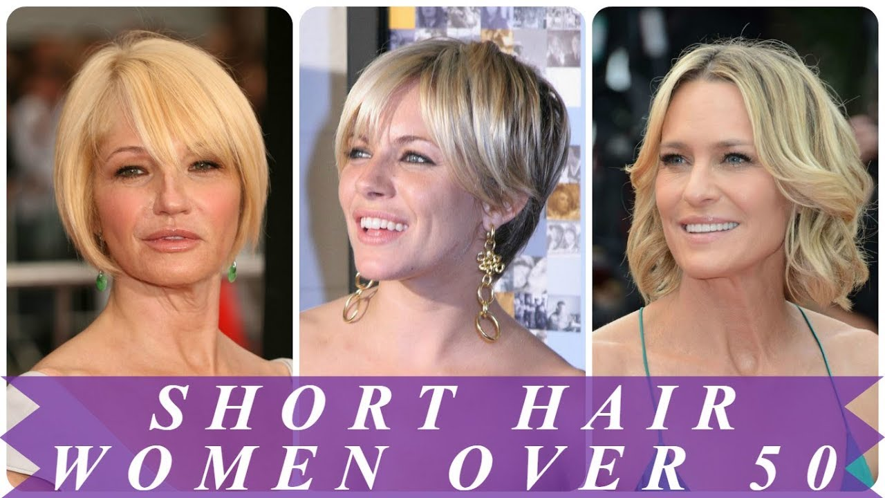 best short hairstyles for 50 year old woman 2018 - youtube