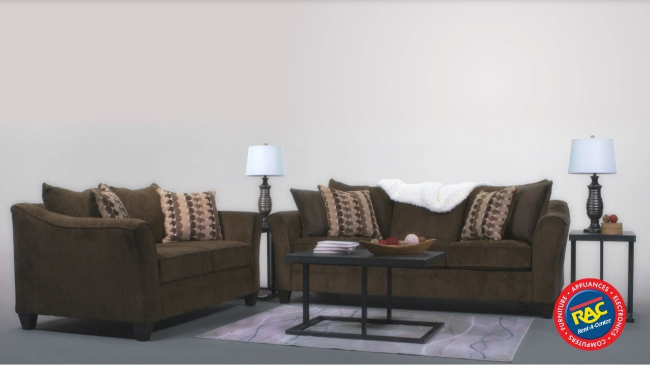 Kick Back On The Simmons Albany Sofa And Loveseat By Rent-A-Center