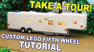 Custom Build - Lego Fifth Wheel Travel Trailer [cc]