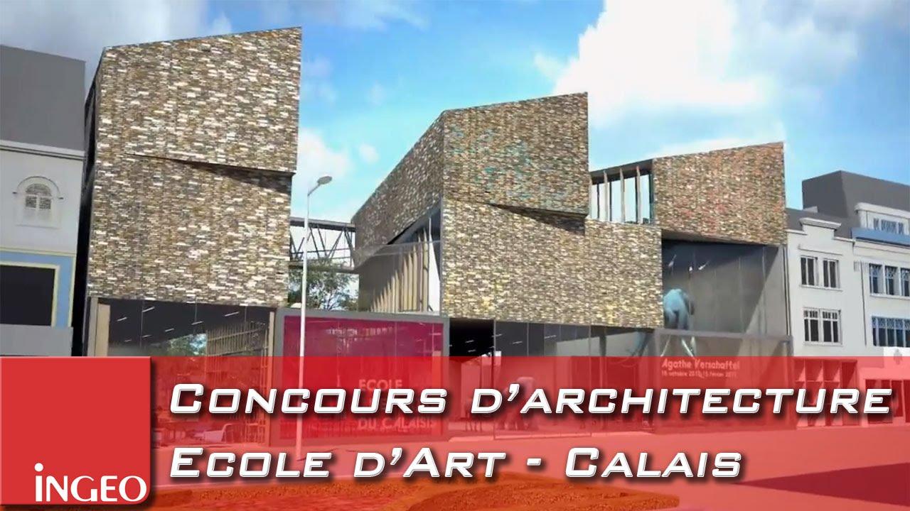 Pr sentation 3d d 39 un projet d 39 architecture concours for Projet d architecture